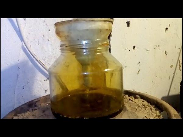 Аффинаж золота селитрой и солью