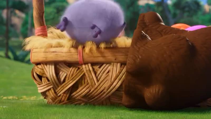 Великодній привіт від пташенят з «Angry Birds у кіно»