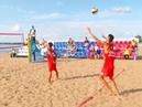 Сборные команды России и Китая по пляжному волейболу провели первые встречи на набережной в Самаре