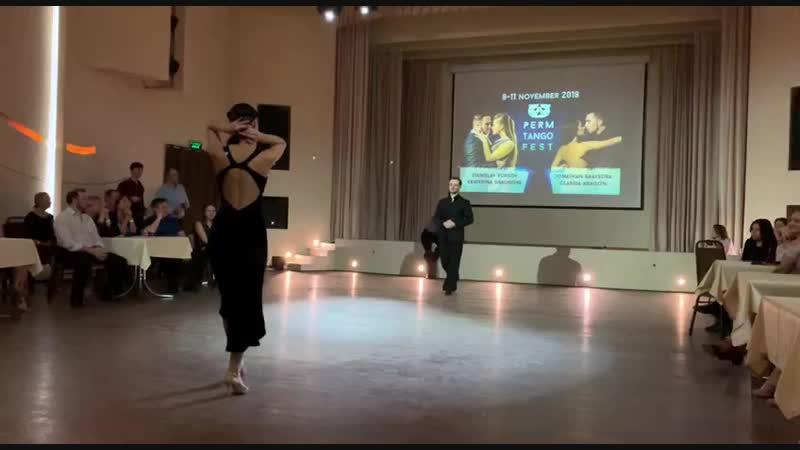 Михаил Чудин - Эльвира Кашкарова, Remolino - Francini-Pontier, Пермский танго-фестиваль 2018