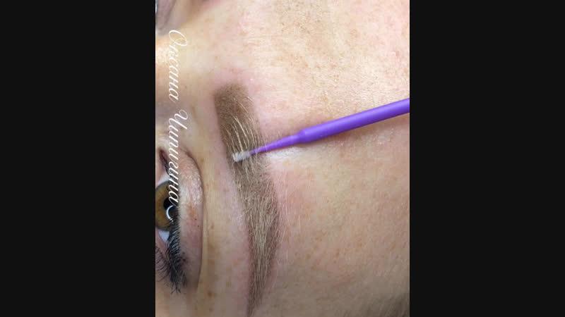🖊Перманентный макияж Пудровое напыление (свежая работа).Запись по 📲0713417825,0509083495 Оксана.