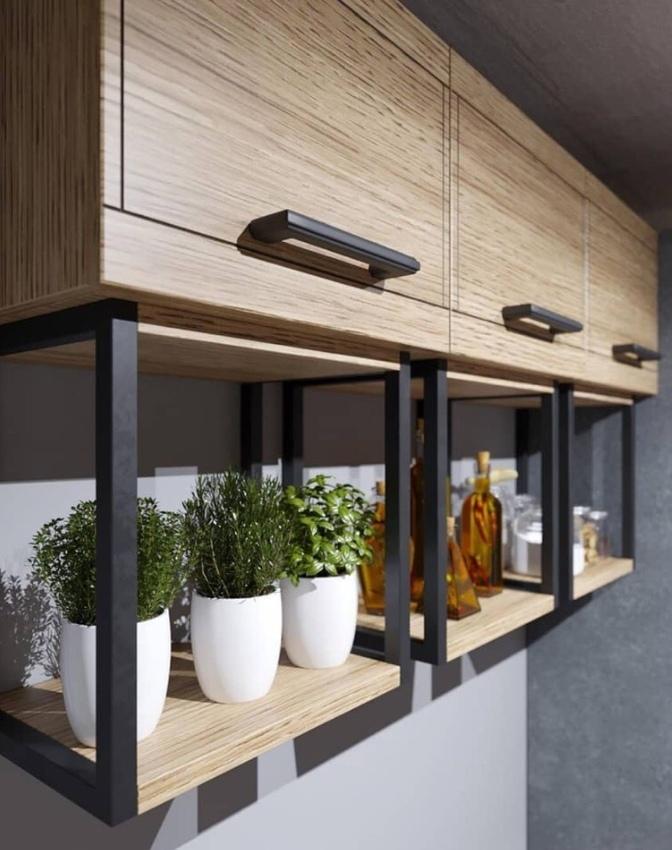Для любителей стиля лофт — современная кухня