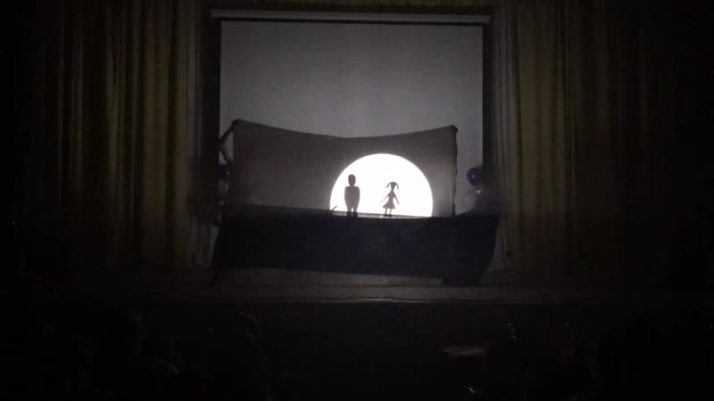 Театр теней Легенда о галстуке