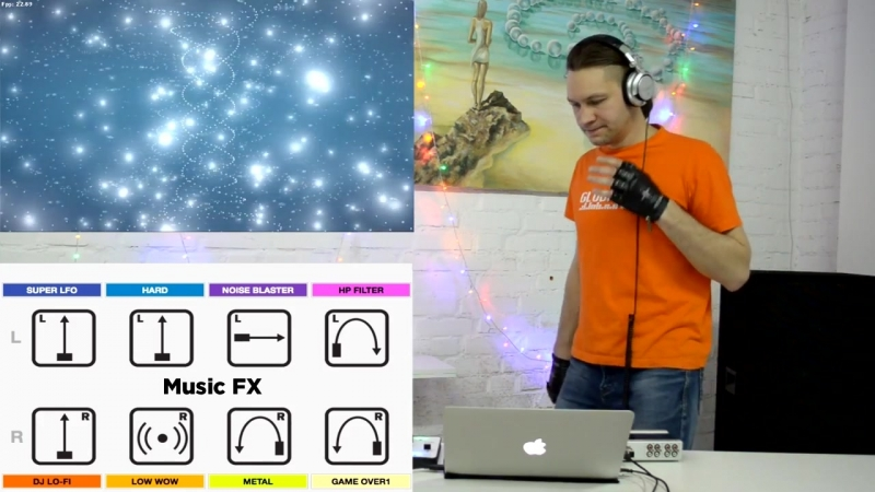 DJing VJing. Music Effects with Visuals. Ableton Live Resolume Arena 5 (1)