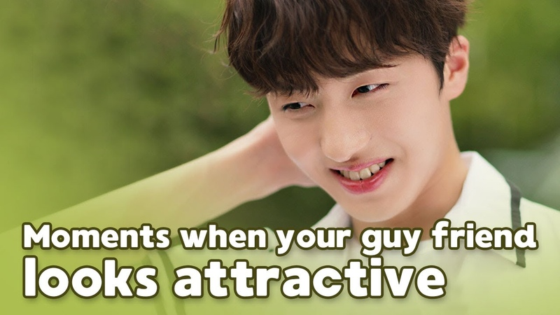 Moments When Your Guy Friend Looks Attractive (ft. SF9) ENG SUB • dingo kdrama