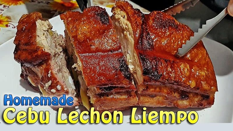 Homemade Cebu Lechon Crispy Roasted Pork Belly (w/ Eng Subtitles) | ChubbyChiniCatt