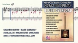 Cigar Box Guitar - Blues Overload - Hard To Do - 3 String Guitar - GDG