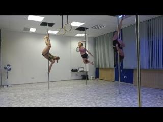 Pole Dance Omsk импровизация
