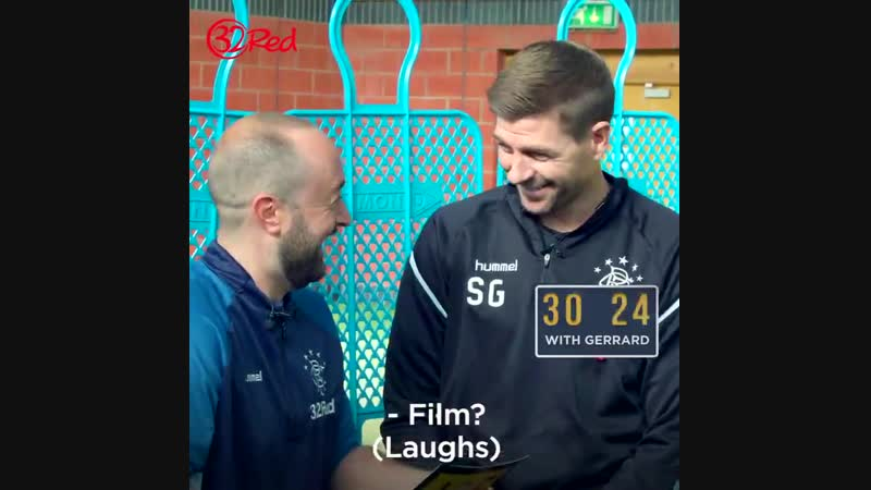 A Minute with Gerrard