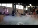 Пуск тяжёлого дыма на первый свадебный танец от ТГАЭРОПЛАН г.СПб 79111000321