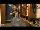 Мужская стрижка для редких волос с Kmaх. Демонстрирует барбер Yiannis Sakellarakis