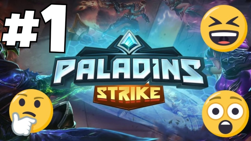 PALADIN'S STRIKE - COOL NEW 2018 iOS/Android GAME - Beginner's Let's Play 1