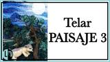 TELAR DECORATIVO Paisaje 3 en Relieve TELAR