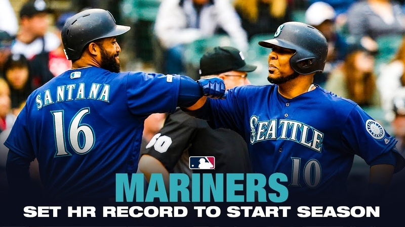 Mariners hit HRs in 20 straight games to start 2019! (MLB Record)