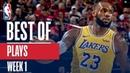NBA's Best Plays   Week 1