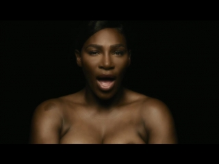 "Serena williams sings ""i touch myself"" topless in music video promoting breast cancer awareness"