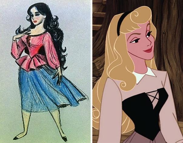 Диснеевские герои в самом начале История каждого мультипликационного персонажа начинается с первого взмаха карандаша, первого наброска, первого оформленного образа. Хотя в процессе работы над