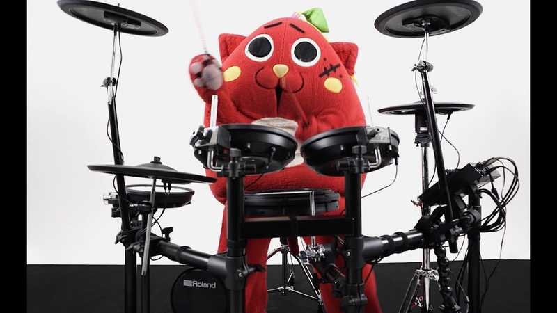 V-Drums TD-17 Artist Impression -にゃんごすたー-