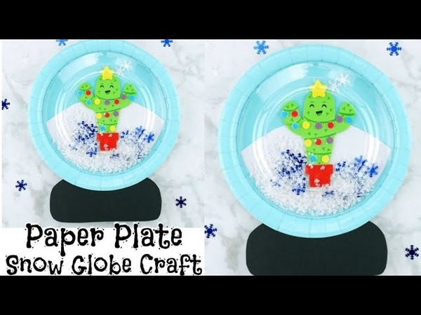How to Make the Sweetest Snow Globe Craft for Kids