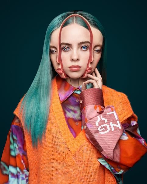 illie Eilish Garage Magazine, 2019