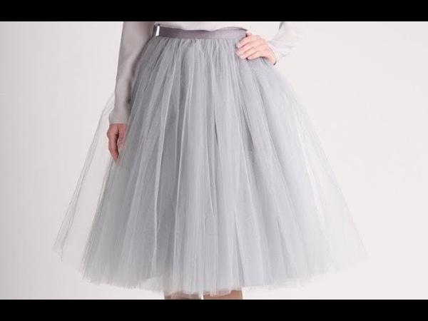 Шей с Happinazz / Фатиновая юбка