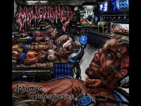 Malignancy - Inhuman Grotesqueries (2007) [Full Album]