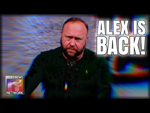 Alex Jones The Most DANGEROUS MAN On The Internet RETURNS