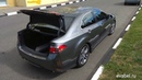 Honda Accord 8 коврик в багажник из Бельгийского ковролина оверлок
