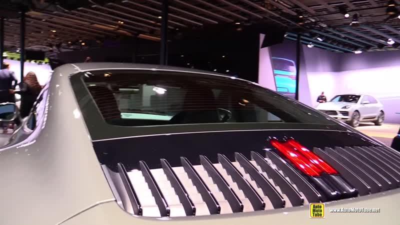 2020 Porsche 911 Carrera S 992 in Agate Gray - Exterior and Interior Walkaround 2018 LA Auto Show