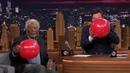 Morgan Freeman and Jimmy  Fallon While Sucking Helium