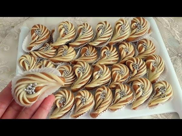 حلويات العيد/ 2019 حلوة الفول السوداني على شكل 15