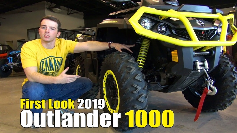 2019 Can-Am Outlander 1000 First Look plus XT, XTP, and XXC Models Explained