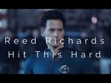 Reed Richards Hit This Hard
