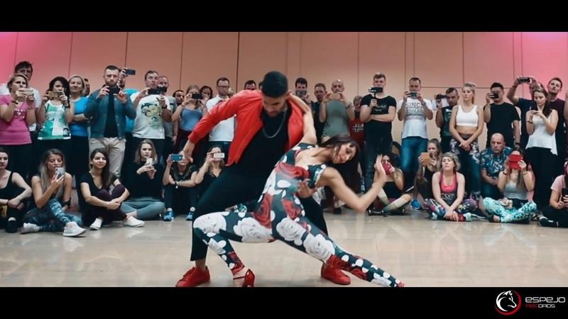 Danny D - Quédate Un Minuto Mas bachata workshop - Marco y Sara El Sol Warsaw Salsa Fest. 2018
