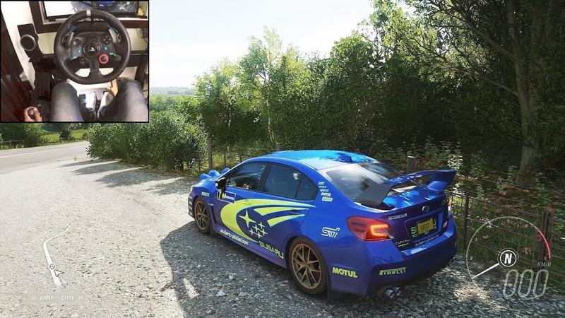 Subaru WRX STI 2015 Forza Horizon 4 Logitech g29 gameplay