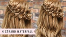 Four Strand Waterfall Braid by SweetHearts Hair