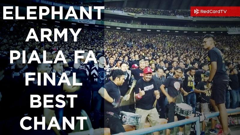 ELEPHANT ARMY Chant Piala FA 2017 Final Ultras Pahang