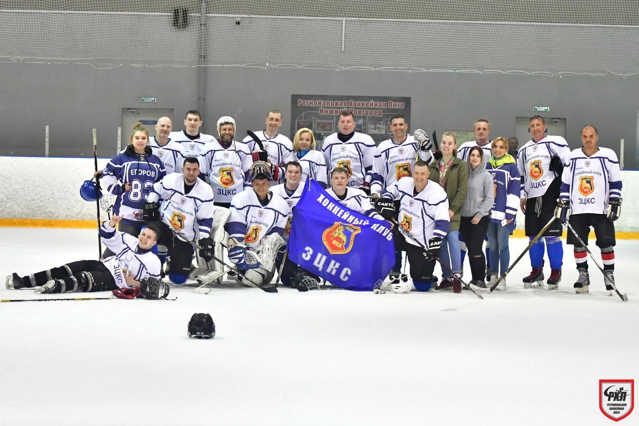 Бронзовый призёр финала Б Дивизиона СОЮЗ - ХК ЗЦКС МВД