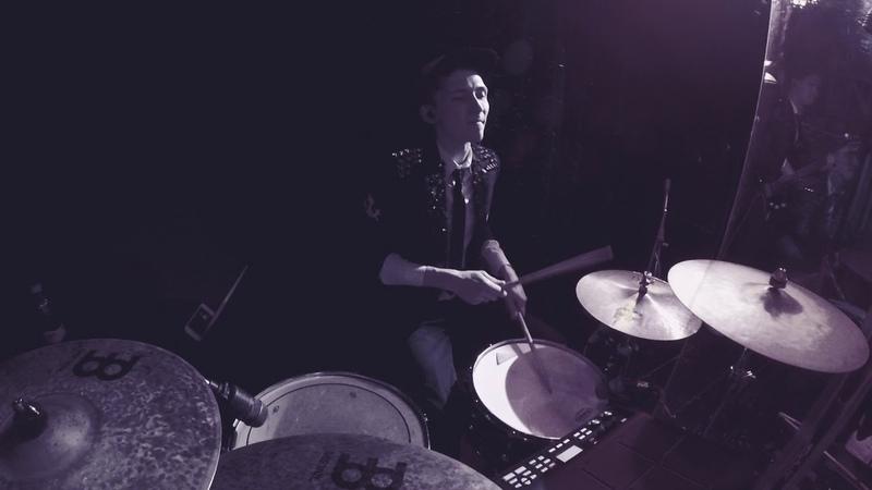 Serj Arkhipov - ACDC - Highway To Hell (Cover) - Drum Cam - OldShcool Band Ufa