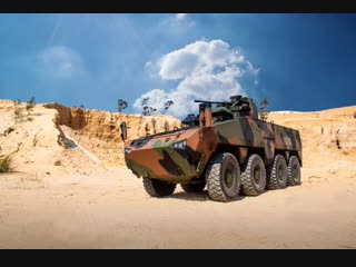 Mbombe 8. The next generation 8x8 Combat Vehicle. Meet our powerful armoured and mine protected vehicles