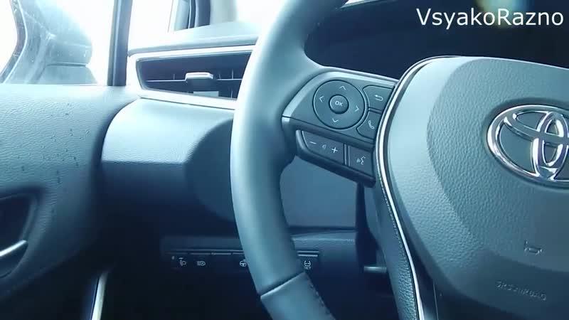 Toyota Corolla 1,6 122 лс CVT Престиж Safety топовая комплектация 1725000 ₽ интерьер,экстерьер обзор