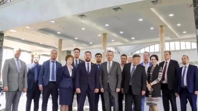 Визит делегации Железнодорожного района Екатеринбурга в Советский район Челябинска