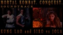 UNFACES KUNG LAO and SIRO vs JOLA Ost Mortal Kombat Conquest 1998