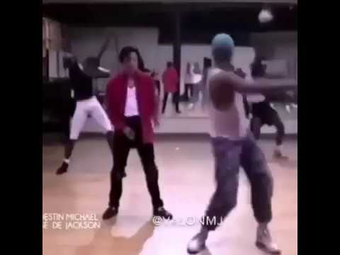 Michael Jackson   Black Or White   Never Before Seen Rehearsals (LQ Snippet)