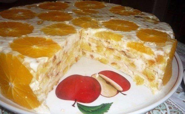 Рецепты тортов без выпечки!