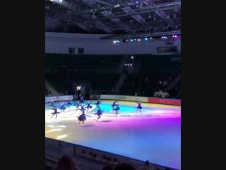 Соревнования по фигурному катанию III этап «Кубка России Ростелеком» 2