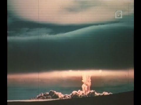 Кадры советских ядерных взрывов, 1-я часть.