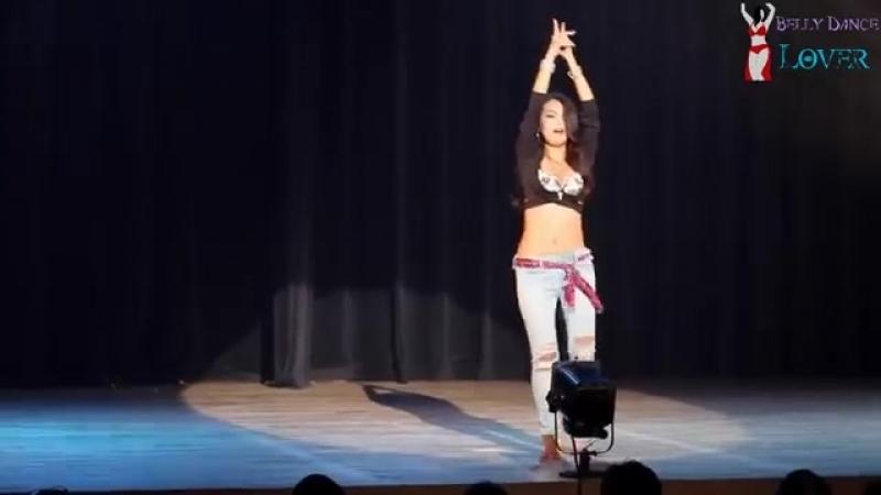 رقص شرقى احلى من صافيناز -(Halawet Rooh ) Tamara bellydancer 24488