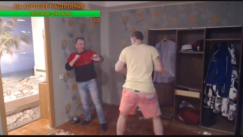 Роман Манский vs дед проститут (feat Кочегар) - Mortal Kombat