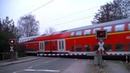 Spoorwegovergang Leer D Railroad crossing Bahnübergang